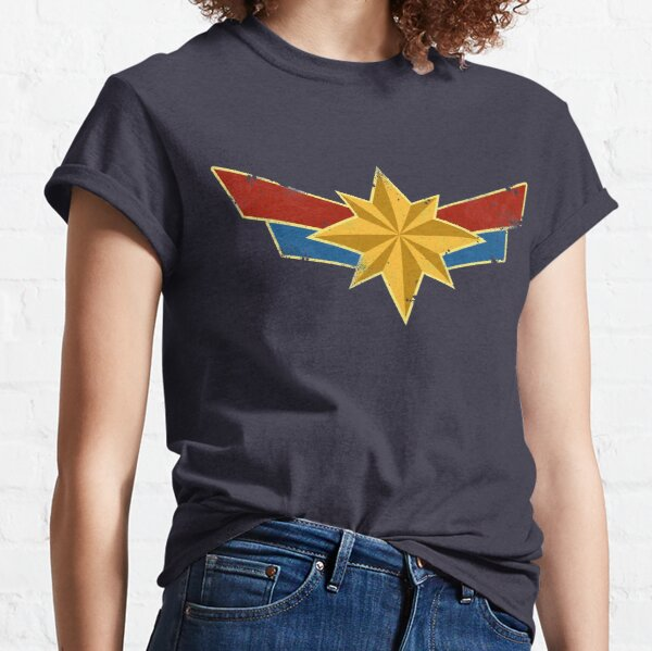 Super Heroine (Aged) Classic T-Shirt