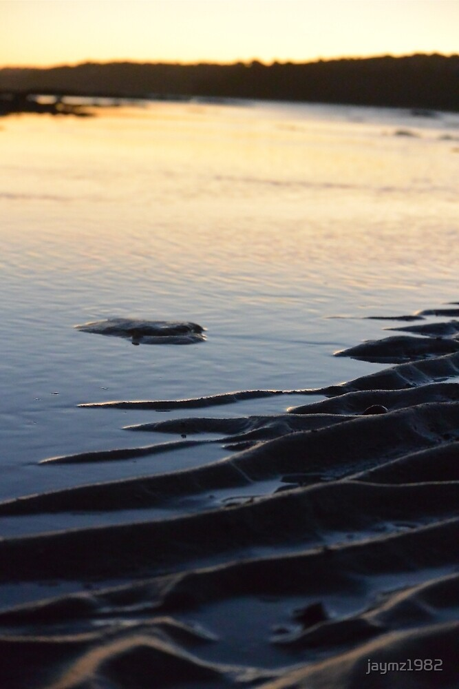 Beach Sun Set by jaymz1982