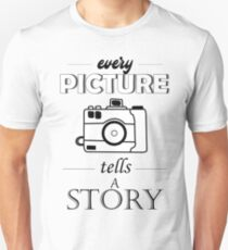 every picture tells a story Slim Fit T-Shirt