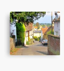 Church Street, Shillington, Bedfordshire Canvas Print