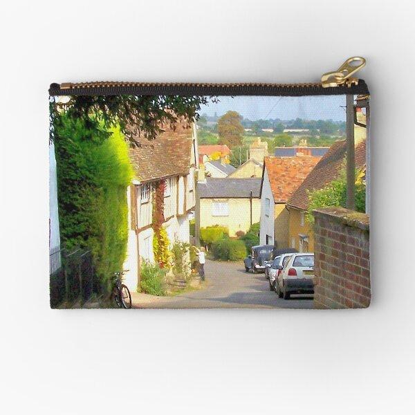 Church Street, Shillington, Bedfordshire Zipper Pouch