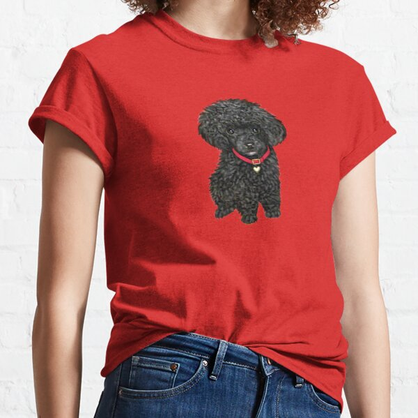 Poodle - Miniature Black Pup Classic T-Shirt