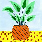Potted plant III by idriera
