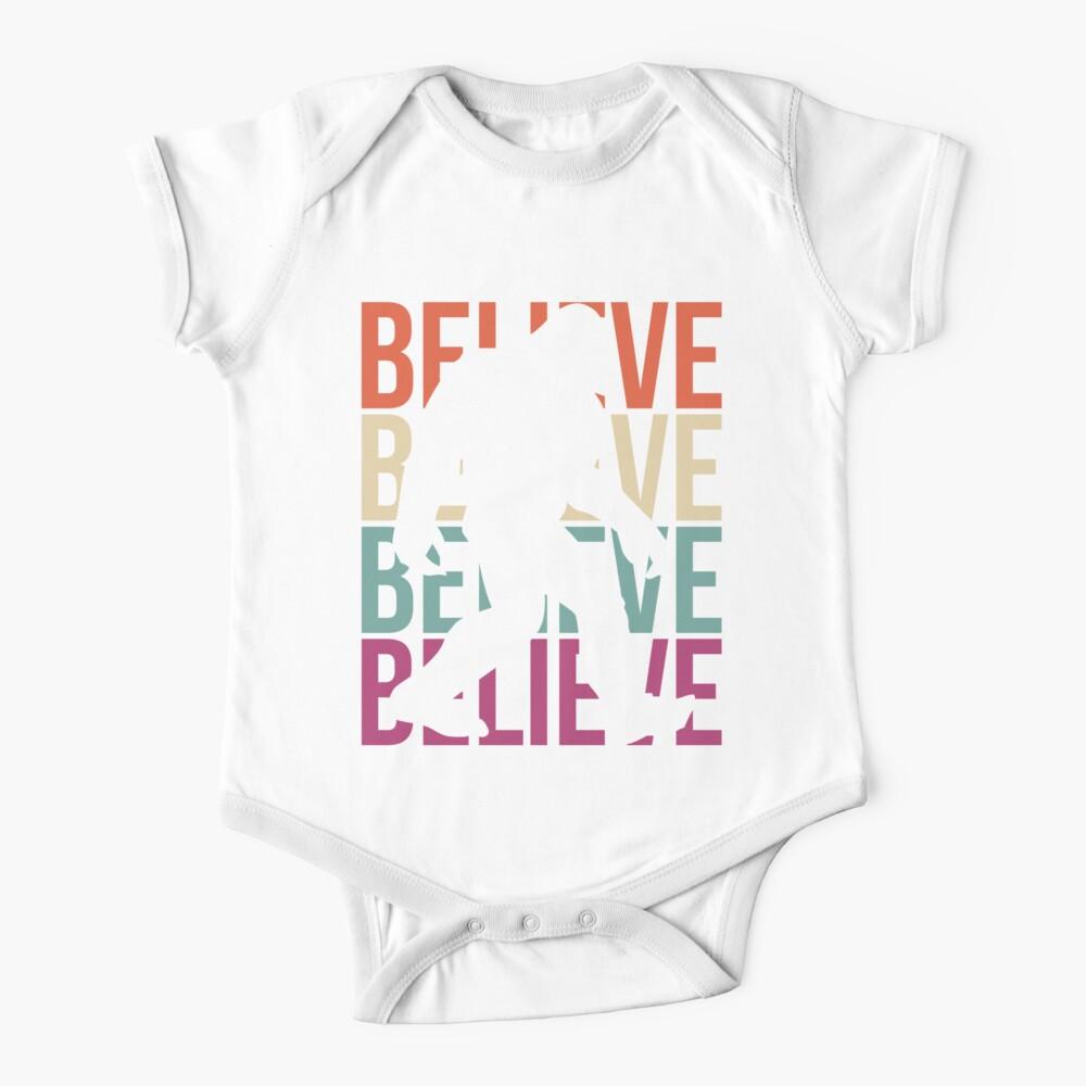 Bigfoot T-shirt I Believe Bigfoot Sasquatch Yeti Funny Shirt Baby One-Piece