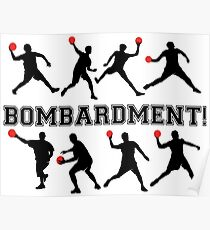 Bombardierung! Poster