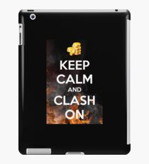 Vinilo o funda para iPad Choque de clanes