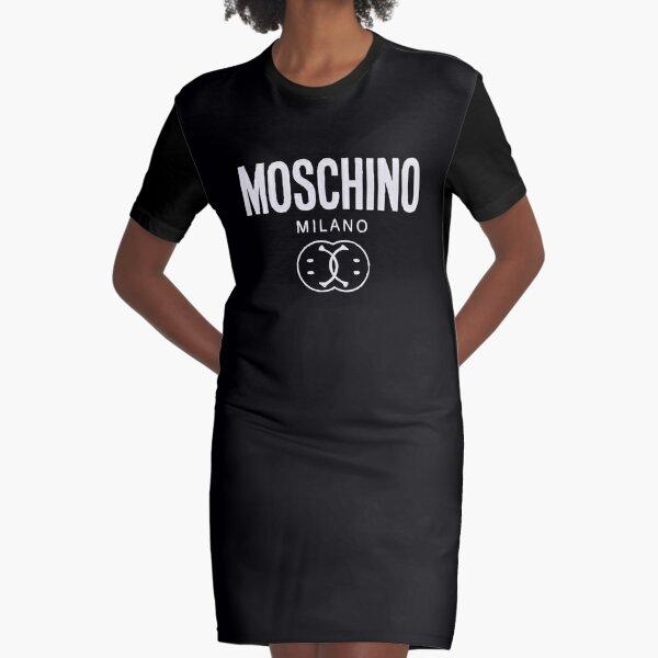 Moschino Milano Merchandise Graphic T-Shirt Dress