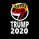 Antifa For Trump 2020 by baproductions