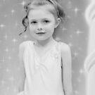 Birthday Girl ~ Portrait In Black And White von Evita