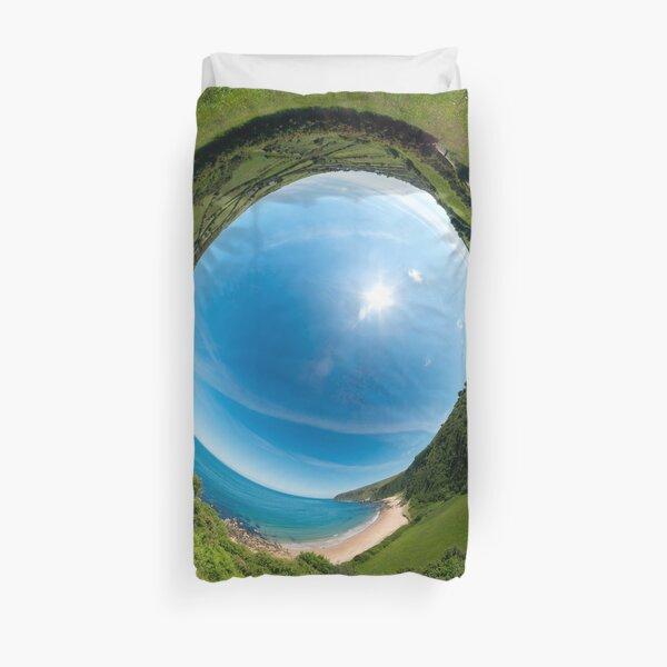 Kinnagoe Bay - Sky In Duvet Cover