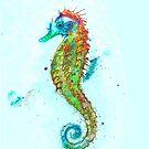 Rainbow Seahorse by Theuglyhouse