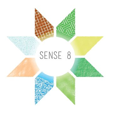 Sense8 Star Logo Yellow by Dersee
