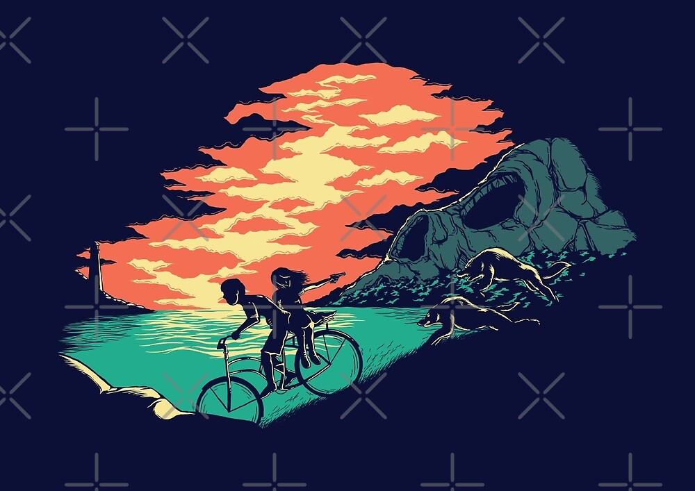 Love Adventure by monochromefrog