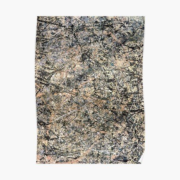 Jackson Pollock. Lavender Mist. GREETING CARD. 1950. Poster