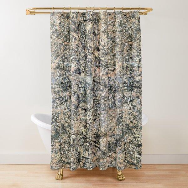 Jackson Pollock. Lavender Mist. GREETING CARD. 1950. Shower Curtain