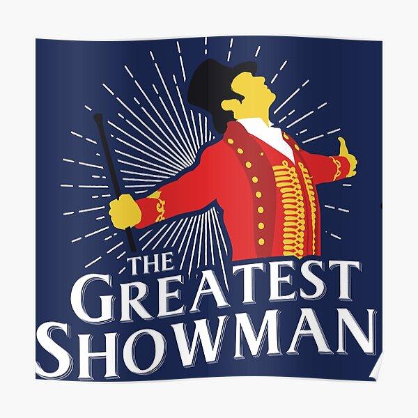La plus grande silhouette de maître de showman Poster