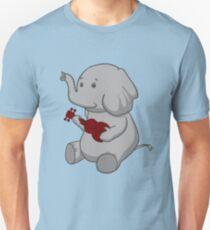 Elephant Loves Her Ukulele  T-Shirt
