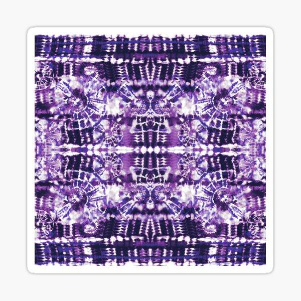Tie-Dye Spiral Shibori Sticker
