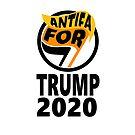 Orange Antifa For Trump Art by baproductions