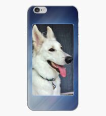 White German Shepherd Dog Portrait iPhone Case