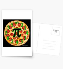 Pizza Pi Day Postcards