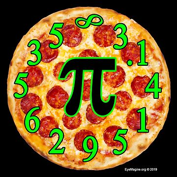 Pizza Pi Day by EyeMagined