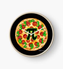 Pizza Pi Day Clock