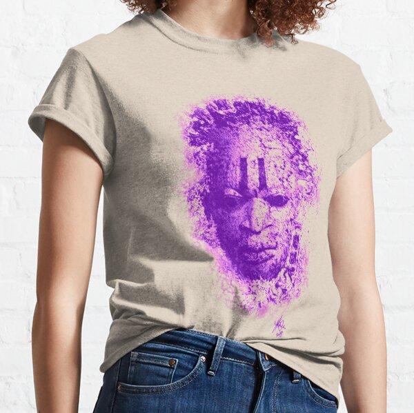 Mask design Purple Classic T-Shirt
