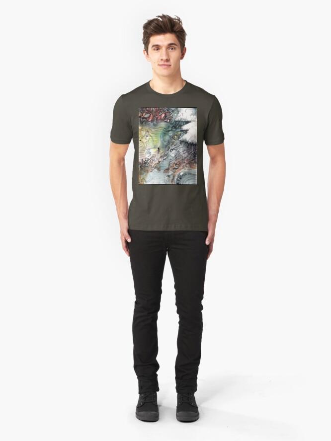 Alternate view of Heaven To Stairway Slim Fit T-Shirt