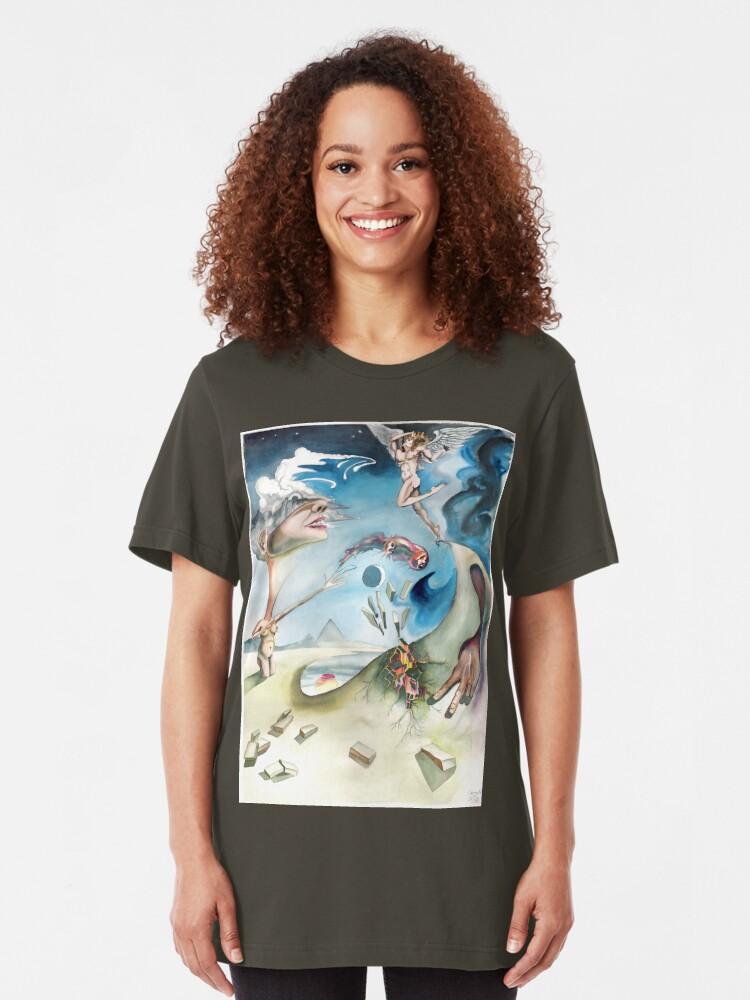 Alternate view of Coming Fall Slim Fit T-Shirt
