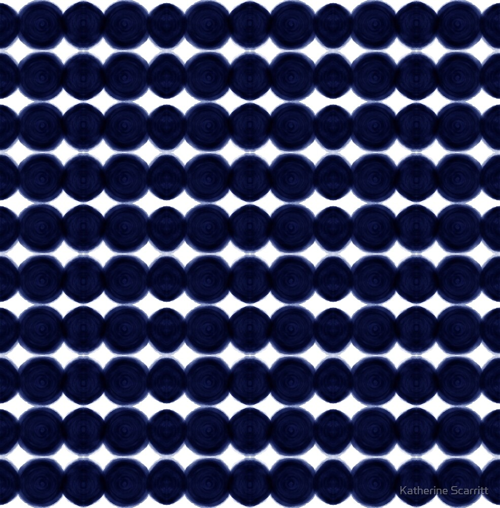Blue Dots by Katherine Scarritt