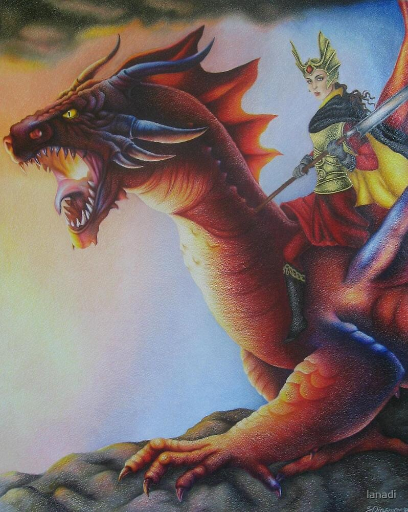 Earth Dragon - Black Book of Arda by lanadi