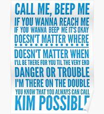 Call me, beep me Poster