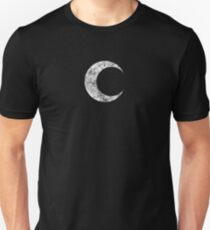 Moon Knight - Classic Symbol - White Dirty Unisex T-Shirt