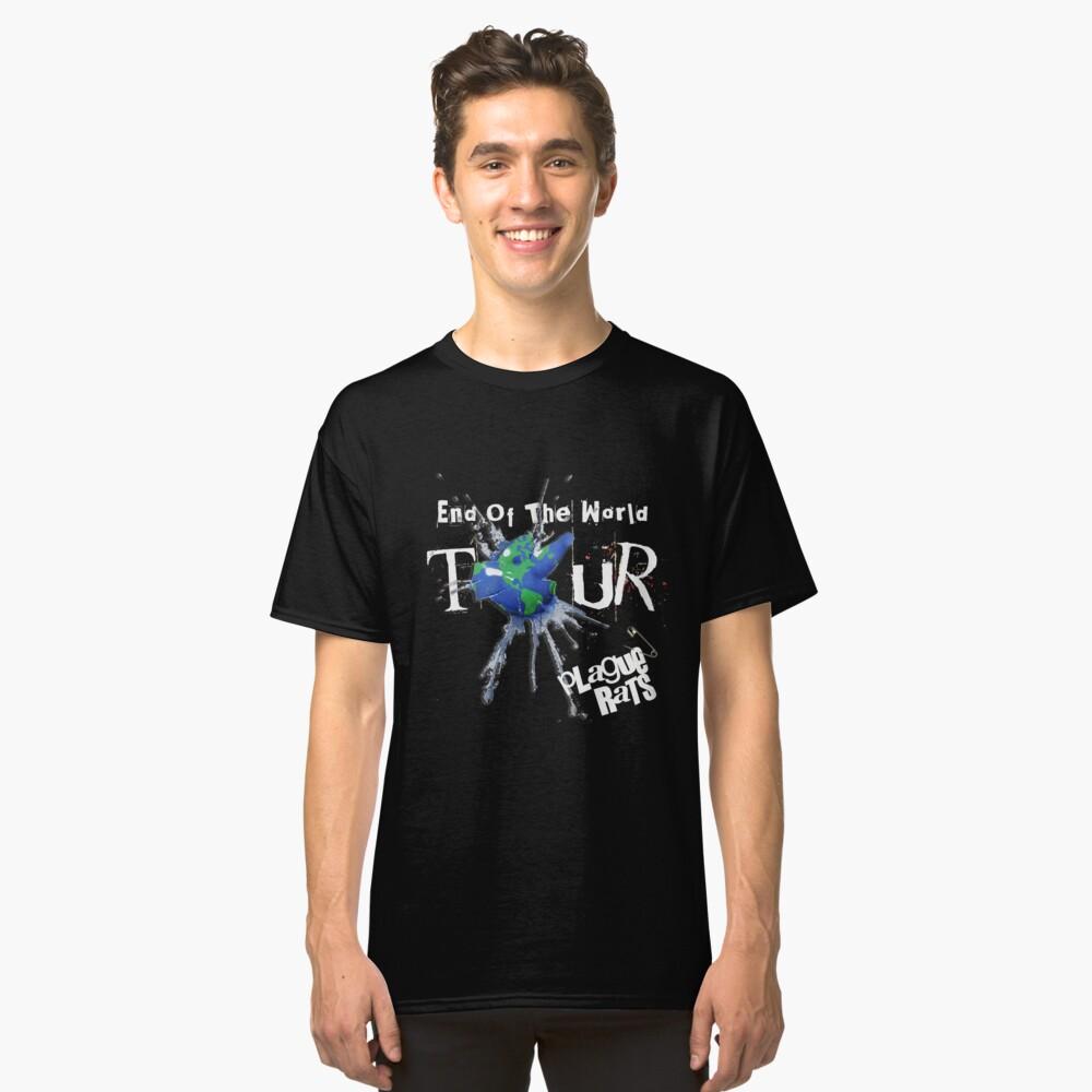 Plague Rats official End-of-the-World Tour t-shirt Classic T-Shirt