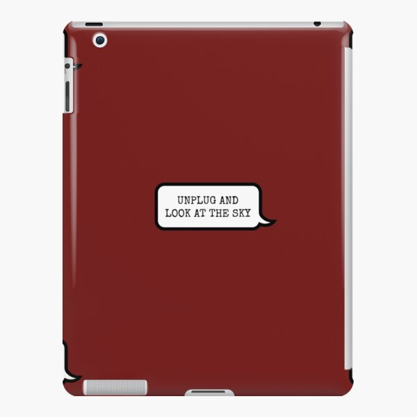A nice phone case/cover with an important message iPad Snap Case