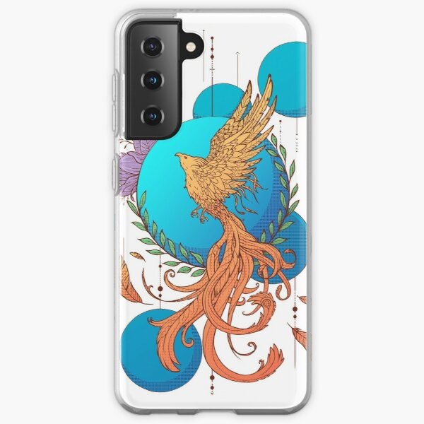 Phoenix Rebirth (Colour) Samsung Galaxy Soft Case