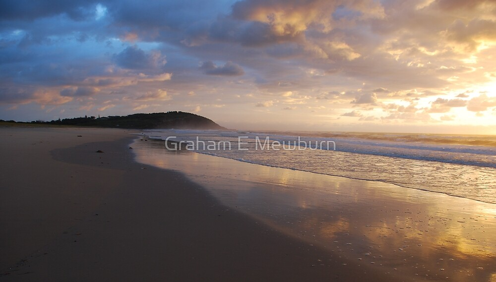 New Day at Crowdy by Graham E Mewburn