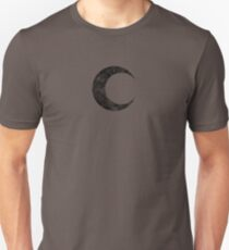 Moon Knight - Classic Symbol - Black Dirty Unisex T-Shirt