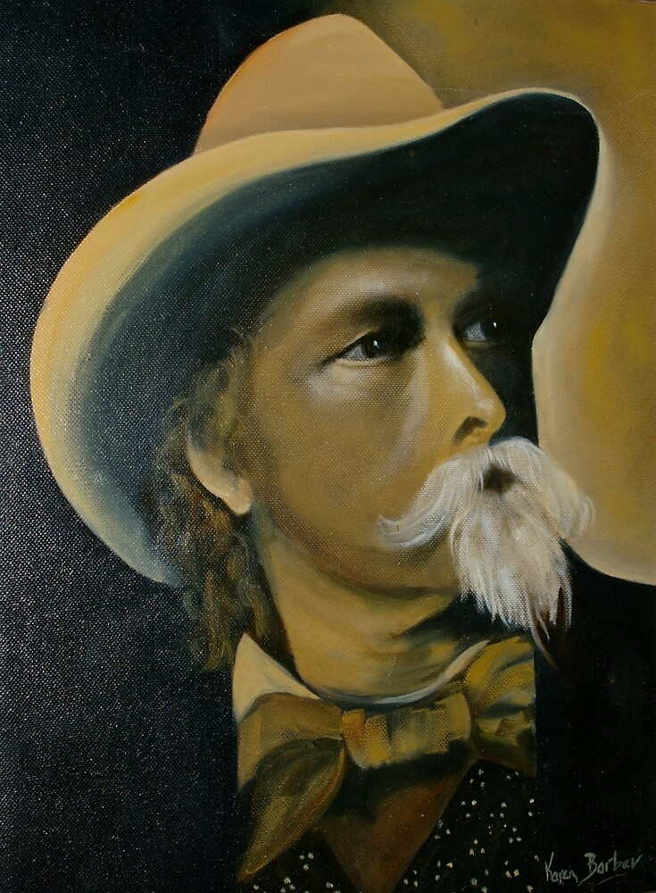 "William Cody alias ""Buffalo Bill"" by BlueWrenArt"