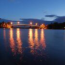 Dumaresq Bridge on Manning by Graham E Mewburn