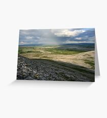 Evening at Mullaghmore Greeting Card