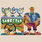 Sorbetero (Ice Cream Man) by Lito Yonzon