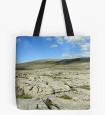 Burren landscape view Tote Bag