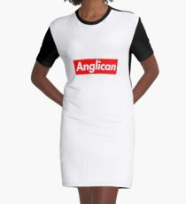 Anglican Graphic T-Shirt Dress