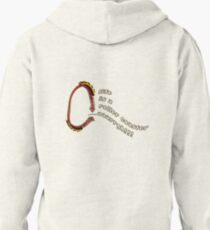 life is a roller coaster...argh! Pullover Hoodie