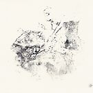 Series Alveoli #1 - Monotype -  by Pascale Baud