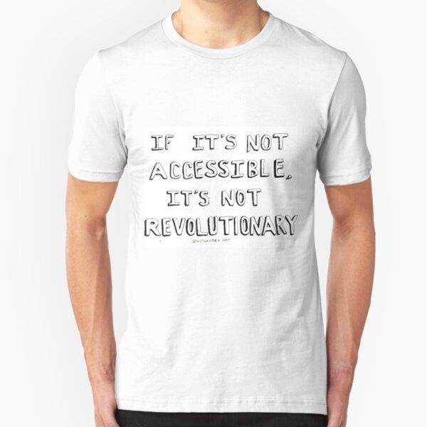 Accessibility Revolution  Slim Fit T-Shirt
