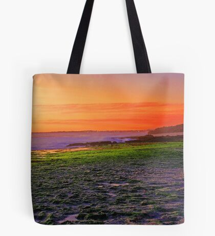 North Beach At Sunset  Tote Bag