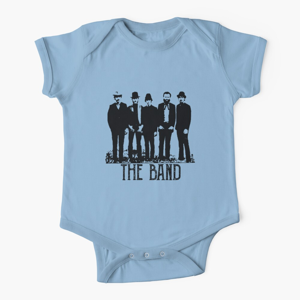 The Band Vintage Retro Concert  Baby One-Piece